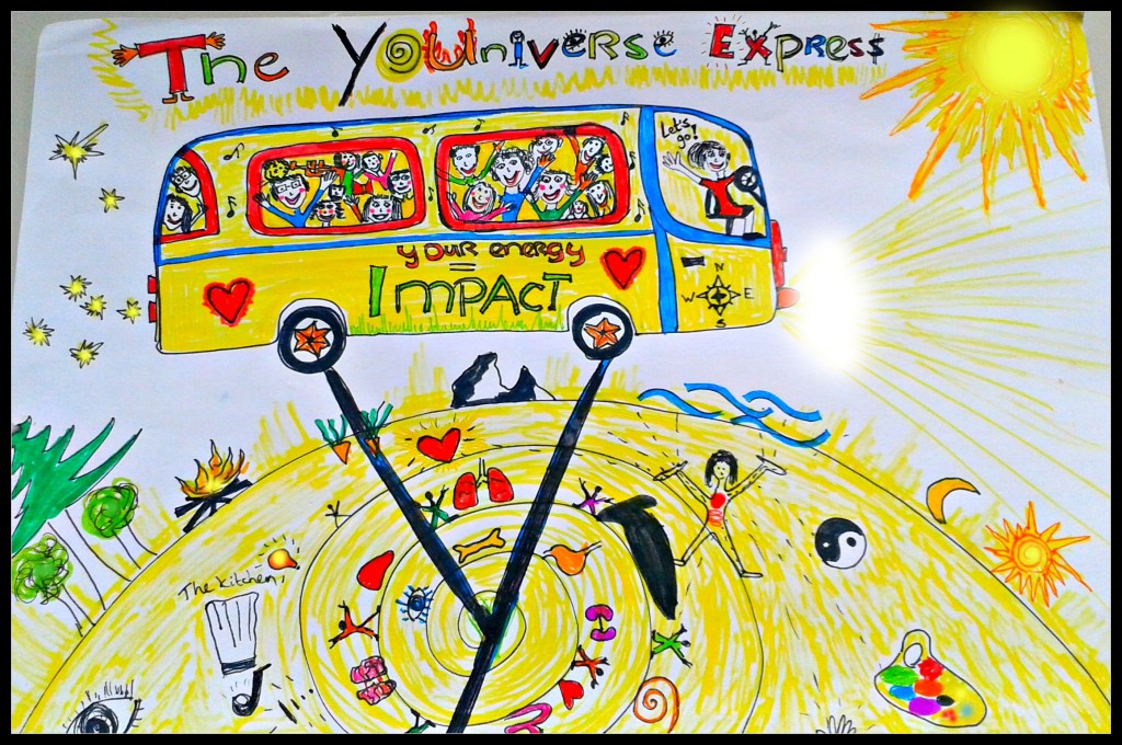 the universe express